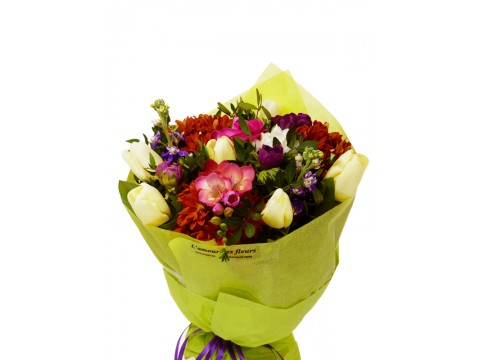 Bouquet red mix