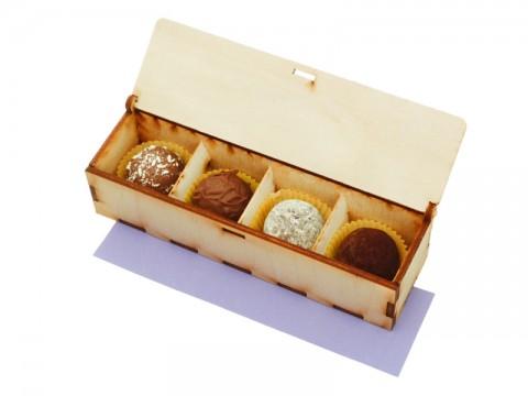 Four chocolates